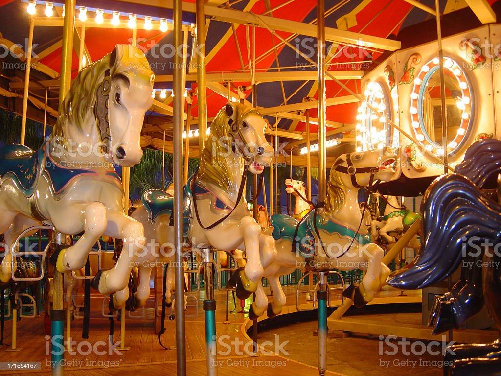Ponies Around royalty-free stock photo