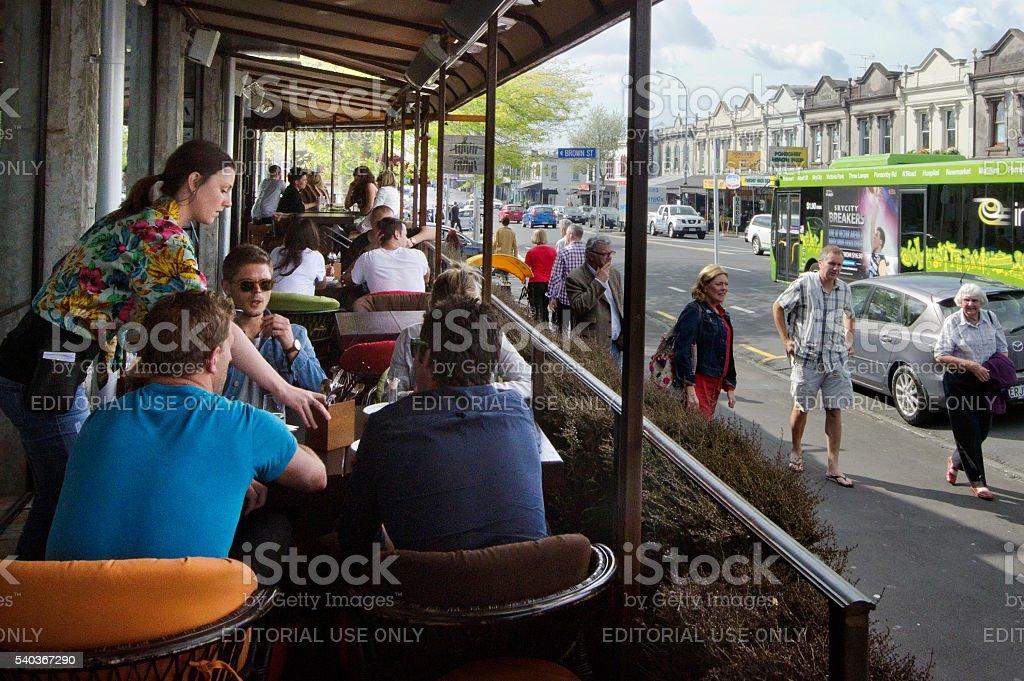 Ponsonby Produce Market stock photo