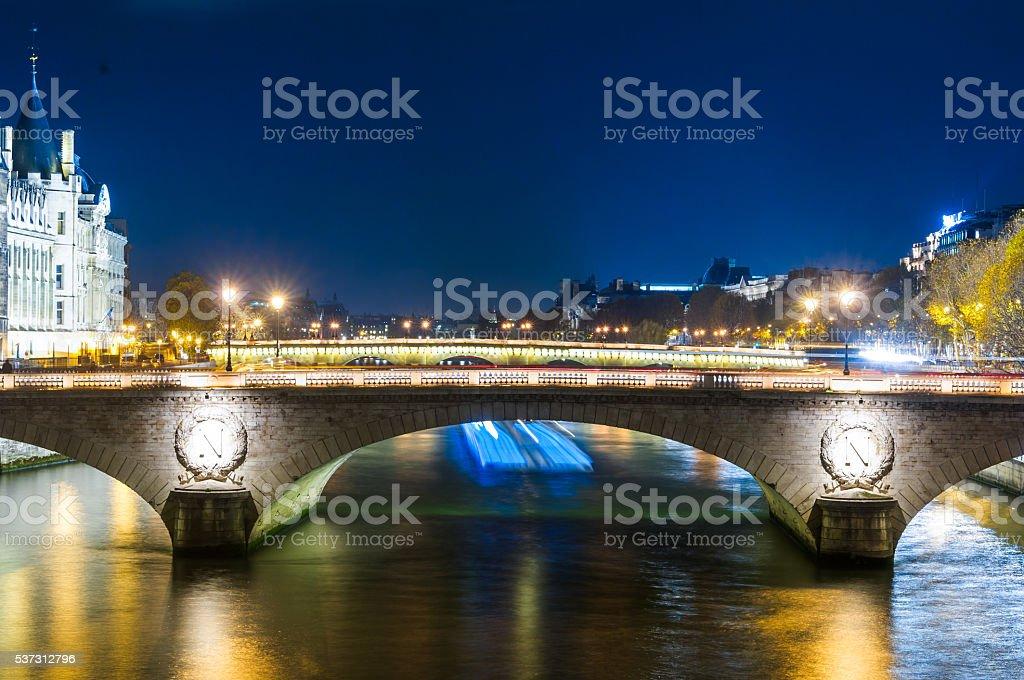 Pont au Change,Paris,France stock photo