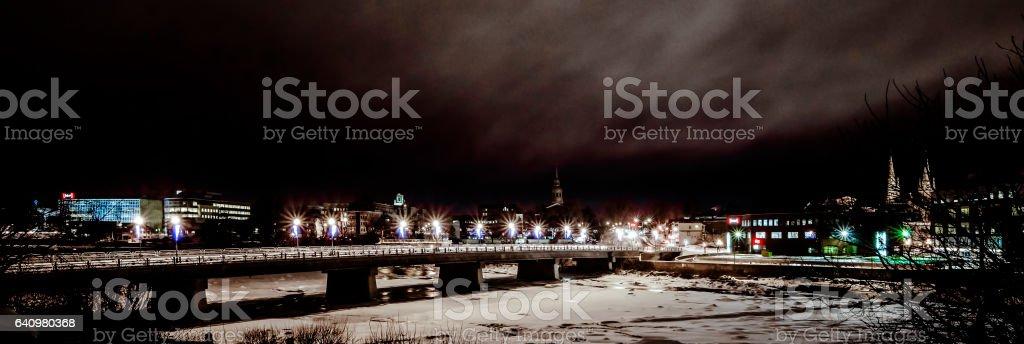 Pont Barsalou, Saint-Hyacinthe Canada stock photo