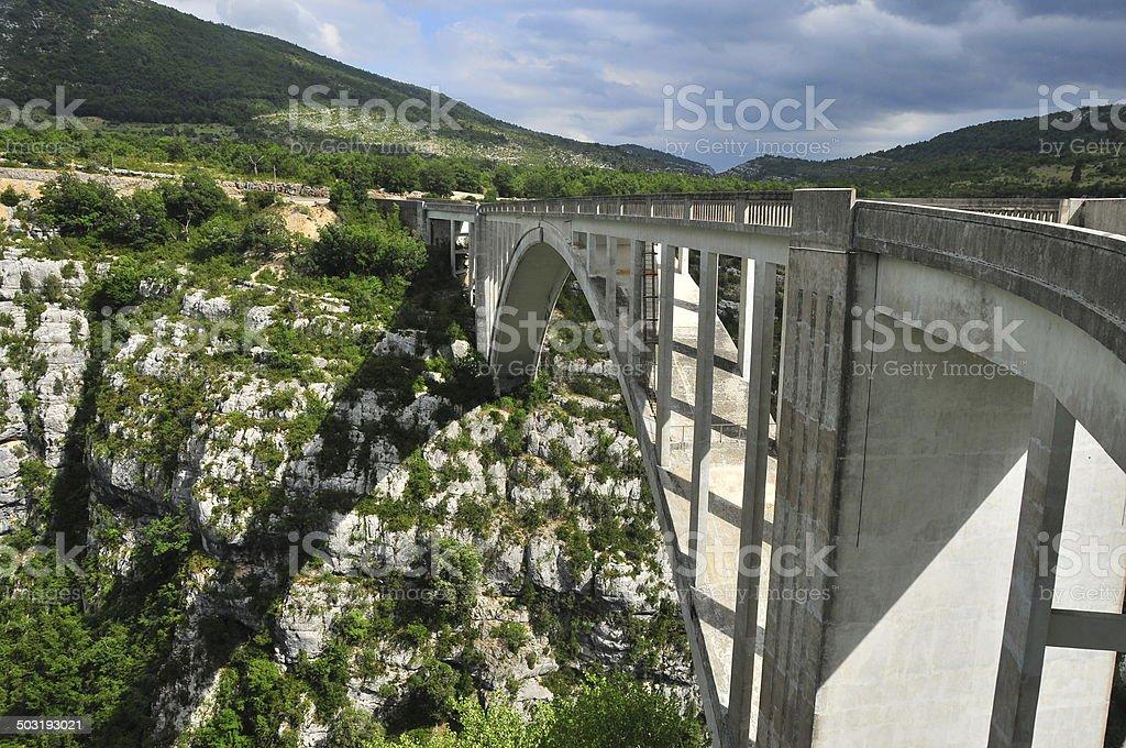 Pont de l'Artuby foto royalty-free