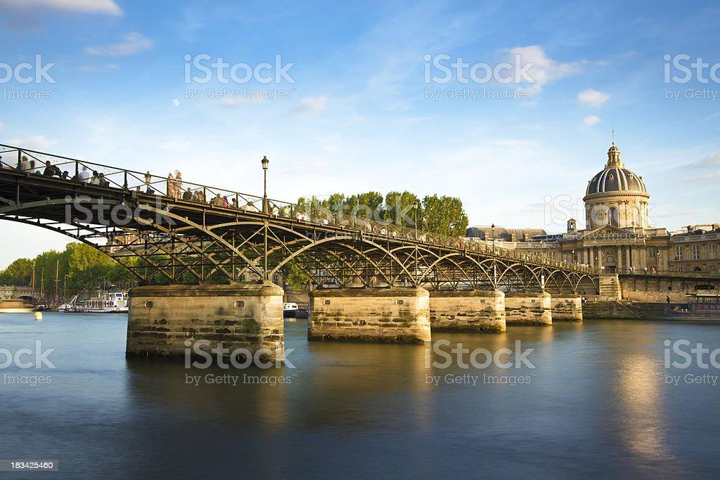 'Pont des Arts Bridge, Paris' stock photo