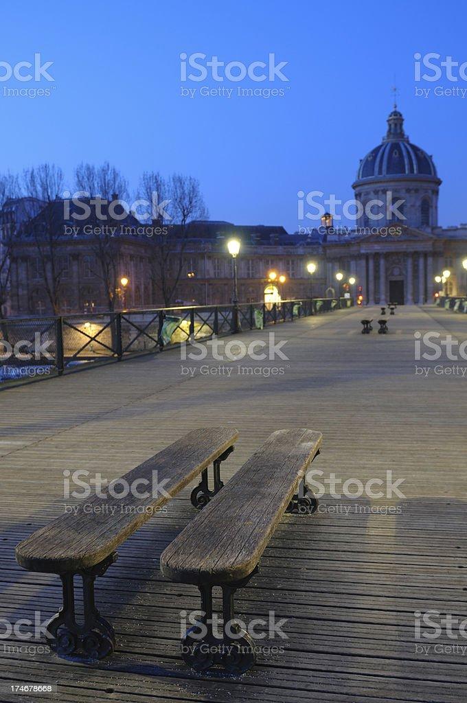 Pont des Arts stock photo