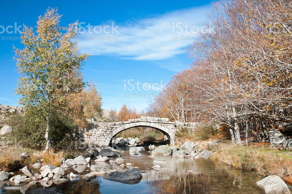 Pont en pierre stock photo