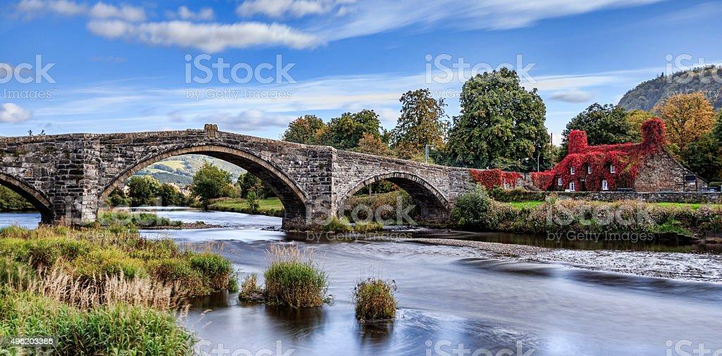 Pont Fawr stock photo