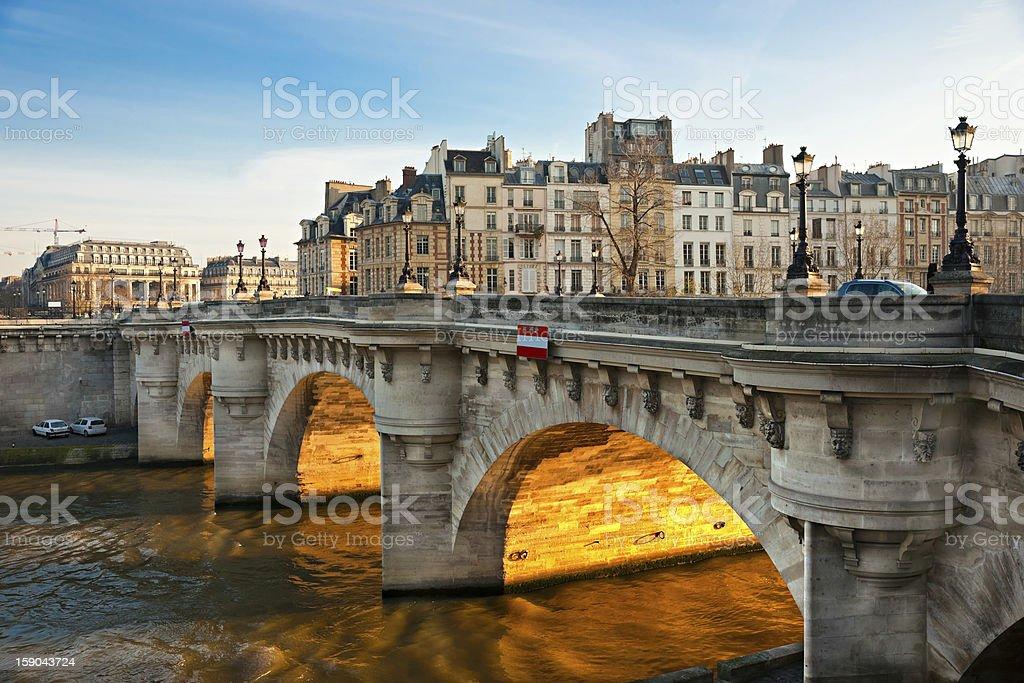 Pont neuf, Île de la Cité, Paris-Frankreich – Foto