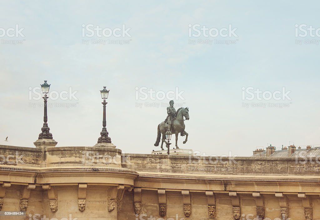 Pont Neuf Paris stock photo