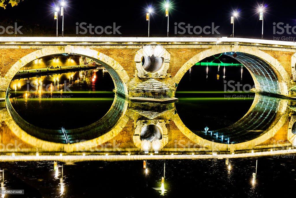 Pont Neuf - Toulouse - Frankreich stock photo