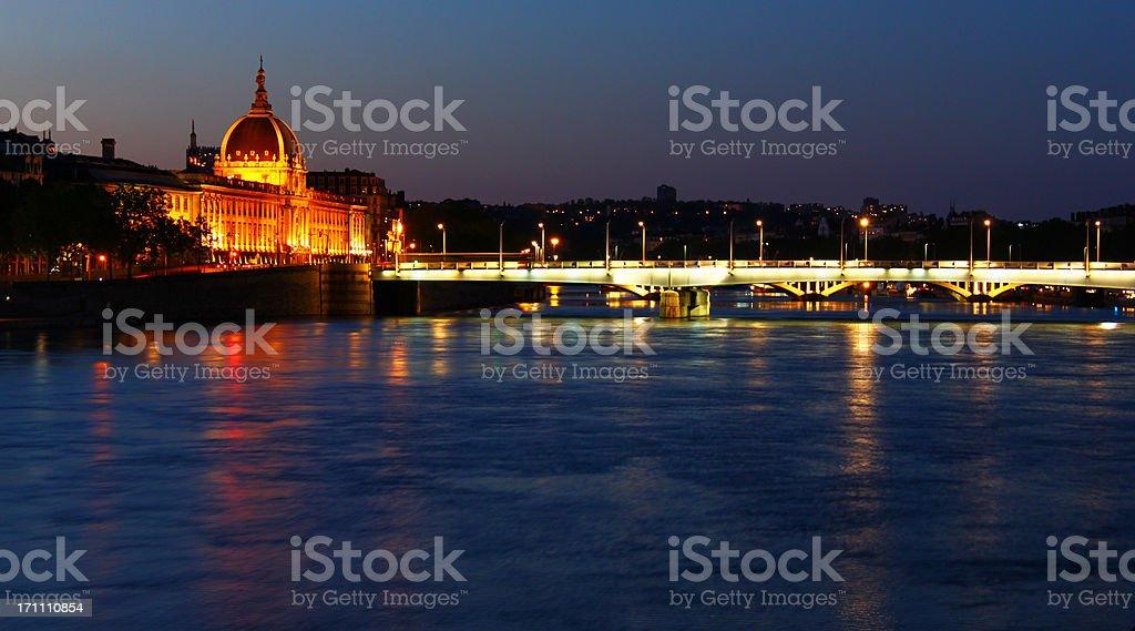 Pont Wilson stock photo