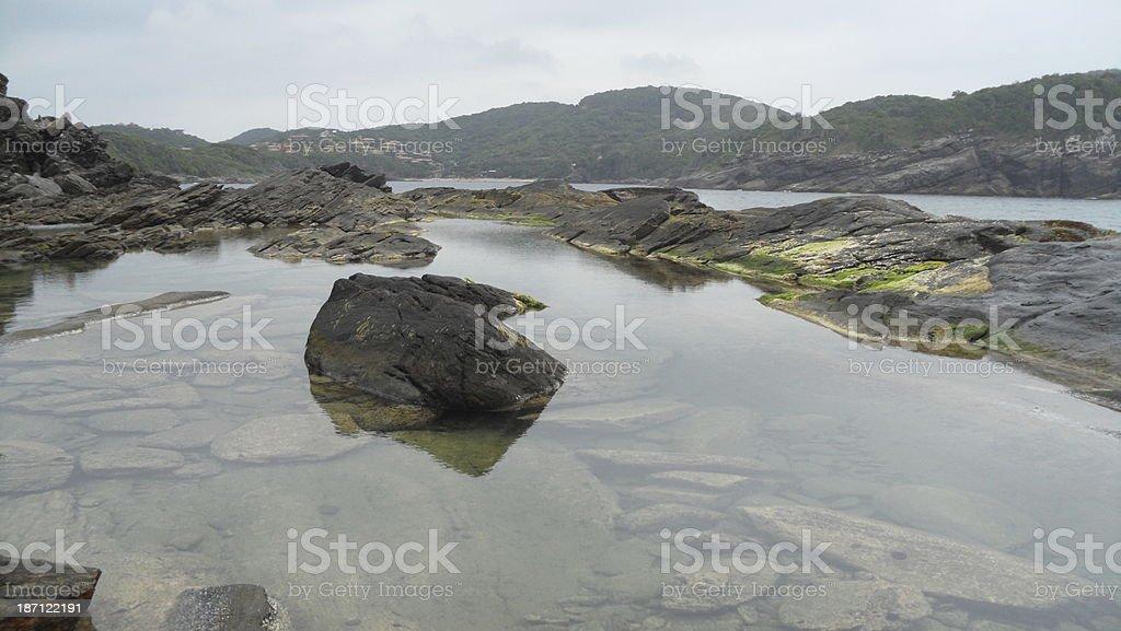 Ponta da Lagoinha em B?zios stock photo