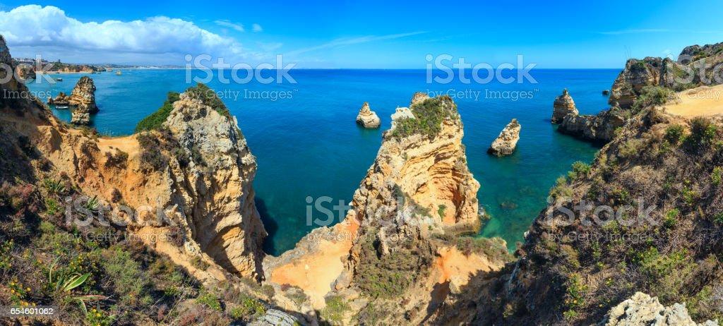 Ponta da Piedade (Algarve, Portugal). stock photo
