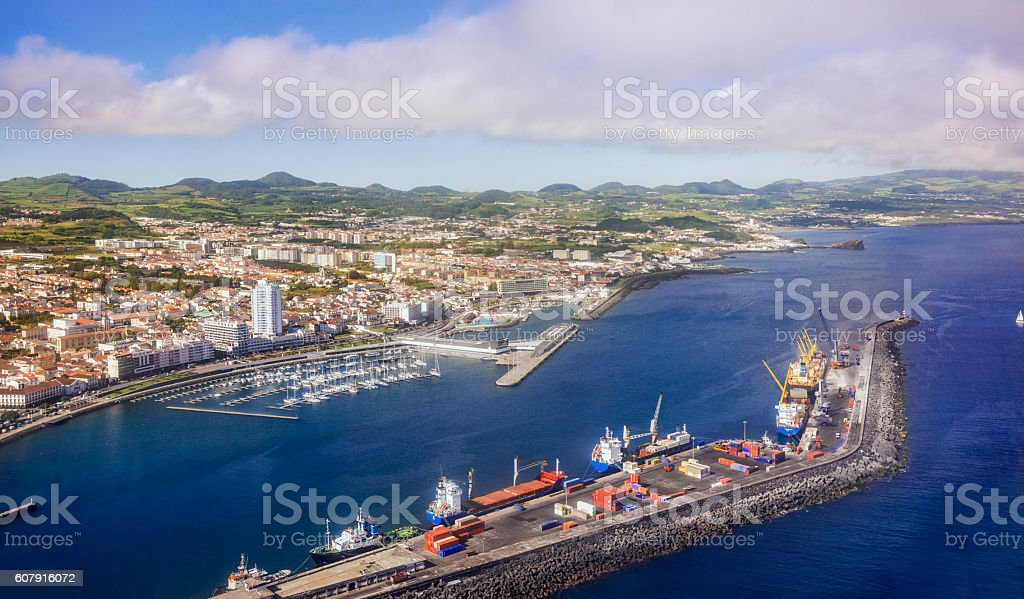 Ponta Delgada, Sao Miguel (Azores) stock photo