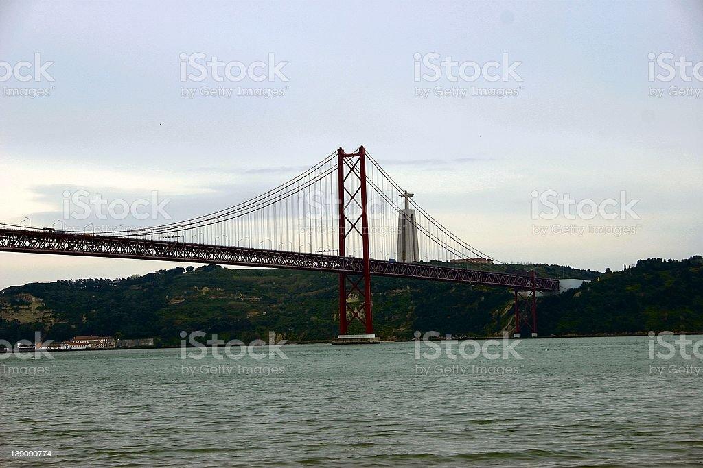 Ponte 25 de Abril - 5 royalty-free stock photo