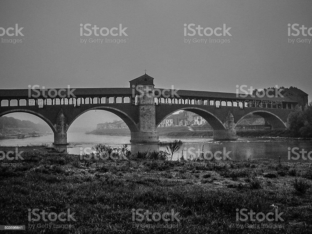 Ponte Coperto royalty-free stock photo
