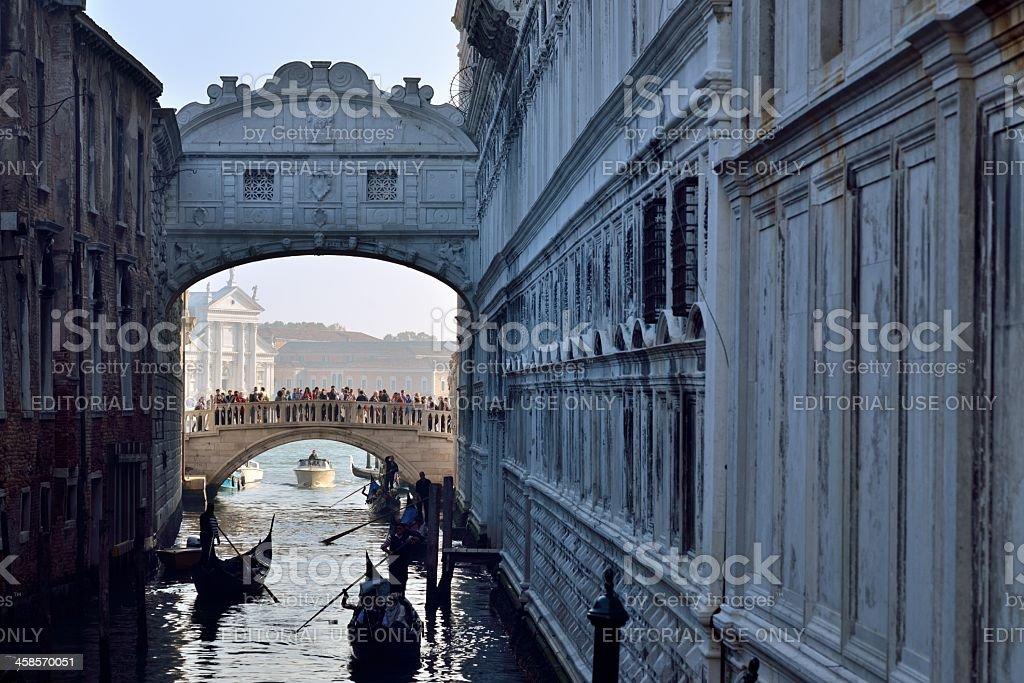 Ponte dei Sospiri, Venice, Italy royalty-free stock photo