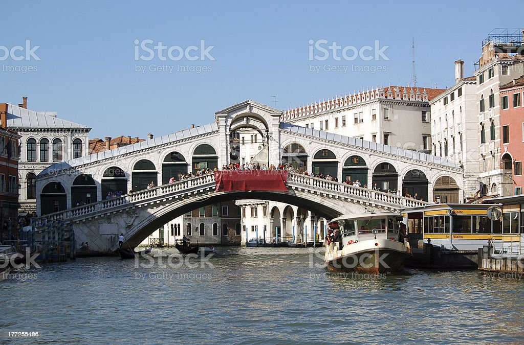 Ponte di Rialto - Venice, Italy royalty-free stock photo