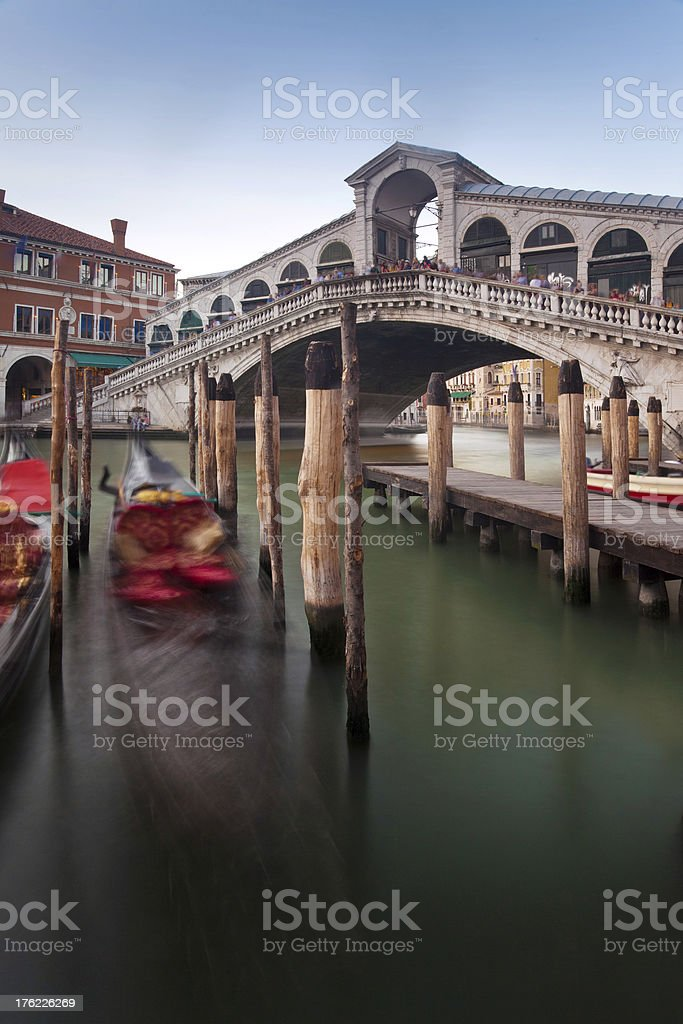 Ponte Rialto Venice royalty-free stock photo