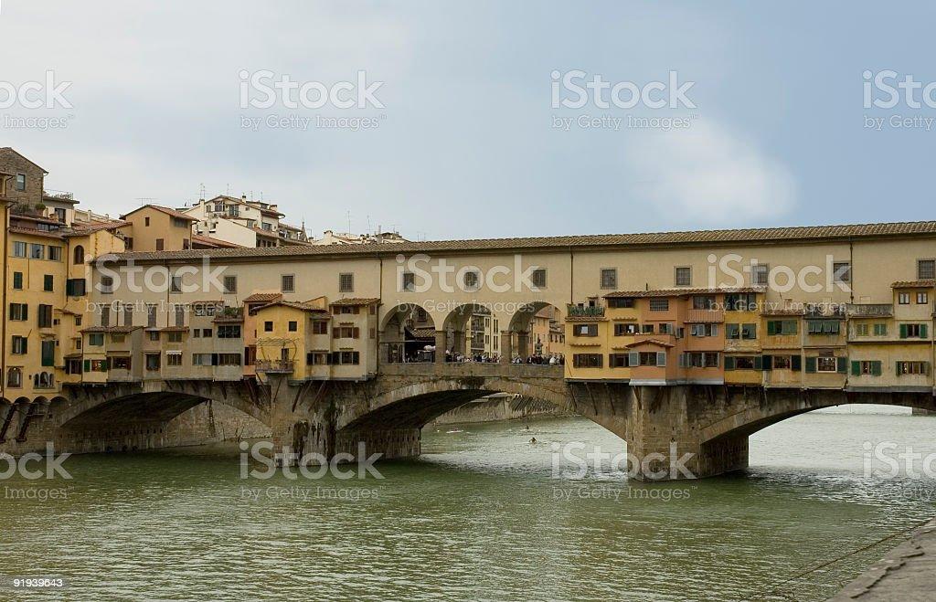 Ponte Vecchio 2, Florence stock photo