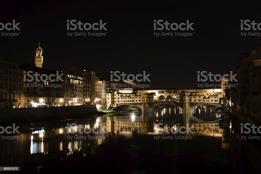 Ponte Vecchio Bridge - Florence, Italy royalty-free stock photo