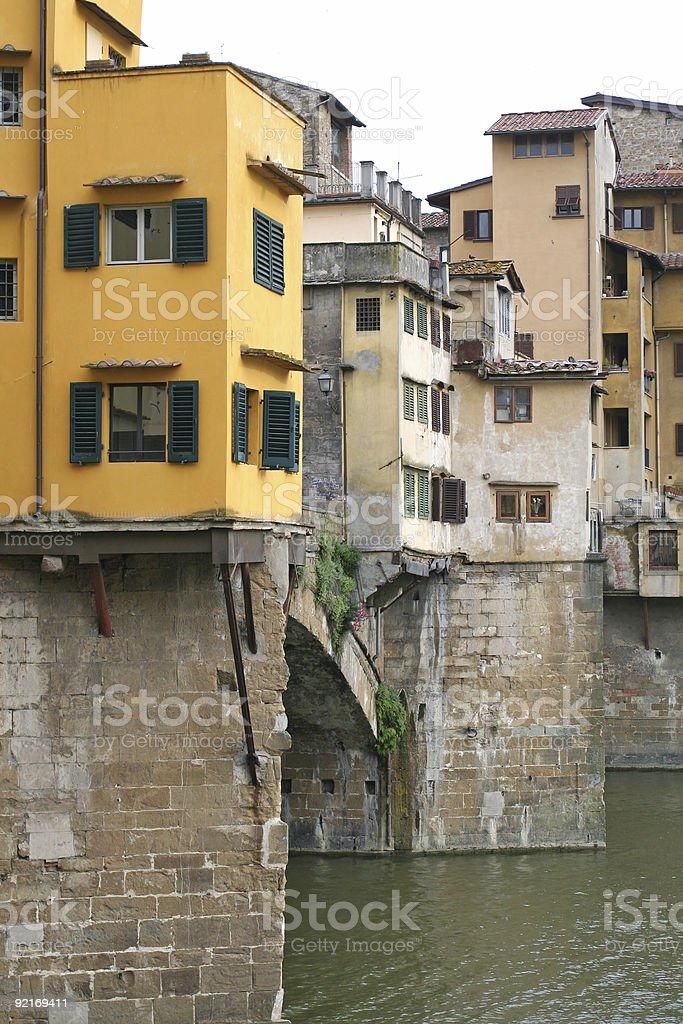 Ponte Vecchio, detail royalty-free stock photo