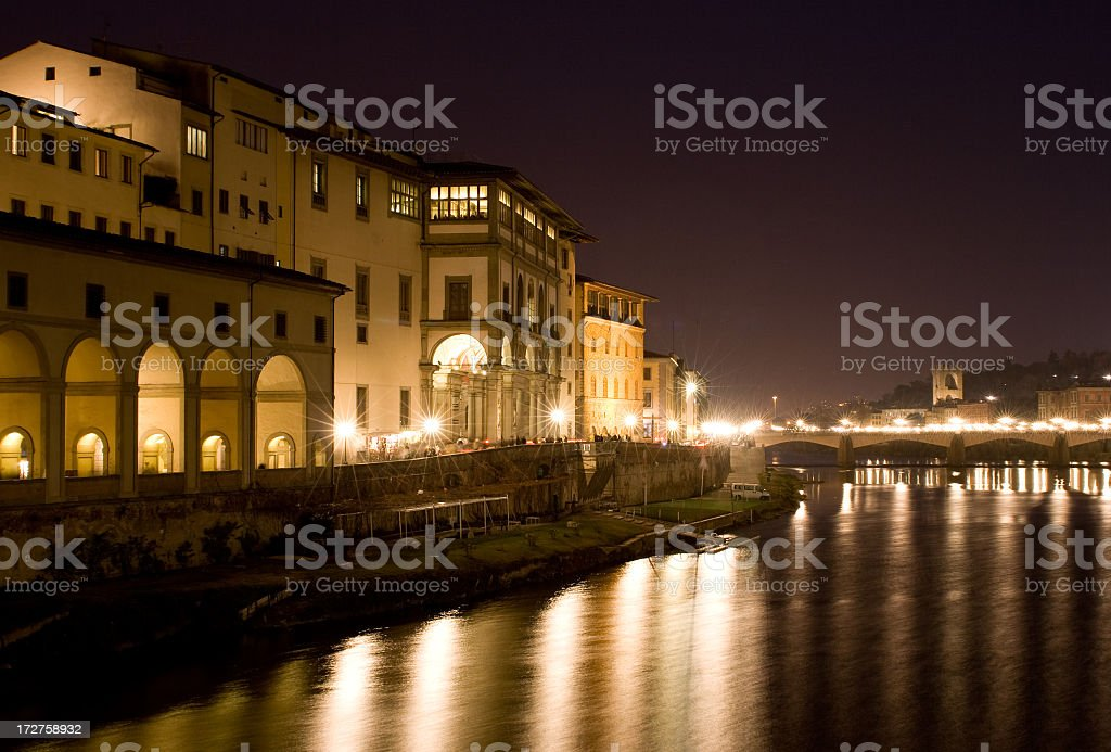 Ponte Vecchio - Florence, Italy royalty-free stock photo