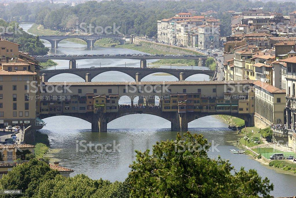 Ponte Vecchio, Florence royalty-free stock photo