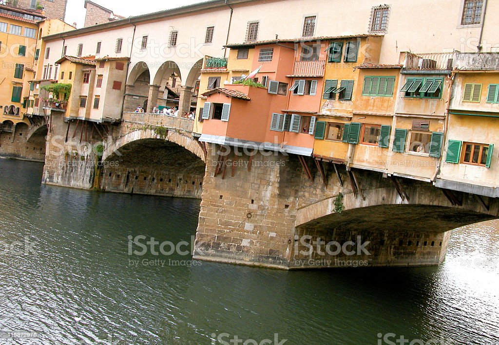 Ponte Vecchio in Florence, Italy royalty-free stock photo