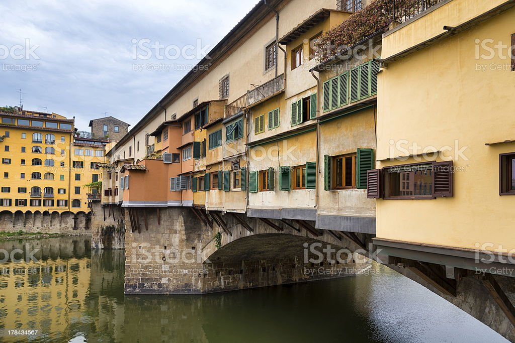 Ponte Vecchio in Florence, Italy. royalty-free stock photo