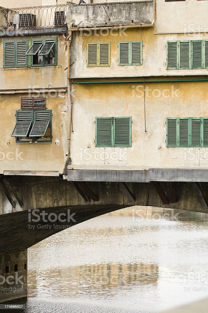 Ponte Vecchio stock photo