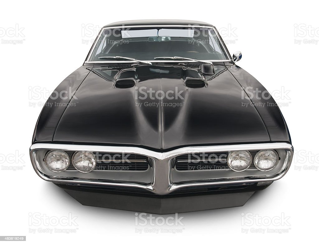 Pontiac Firebird Muscle Car stock photo