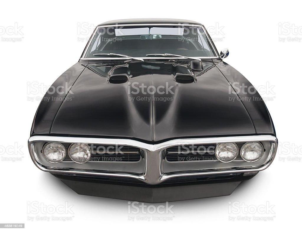 Pontiac Firebird Muscle Car stock photo