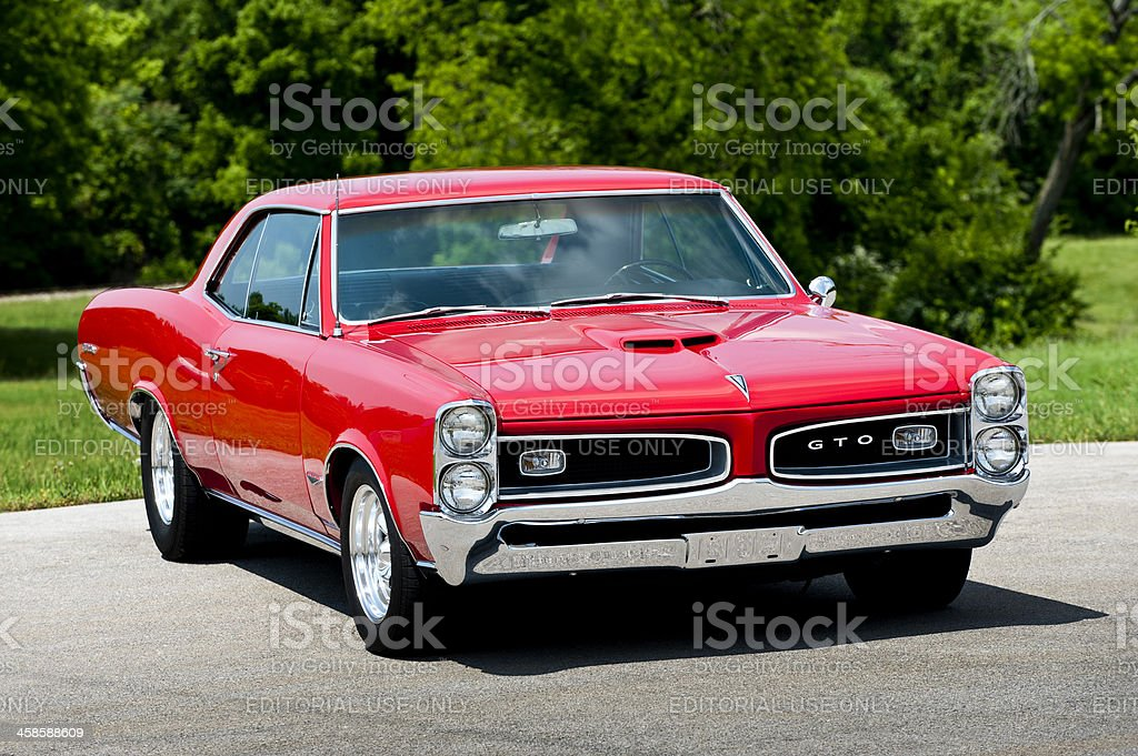 Pontiac GTO Muscle Car royalty-free stock photo