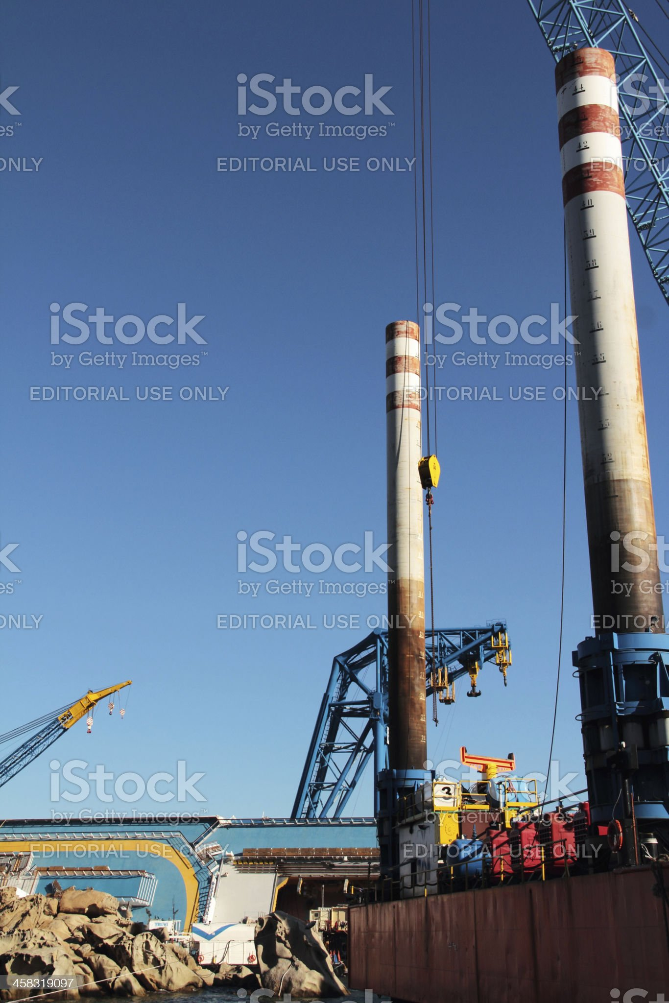pontoon royalty-free stock photo