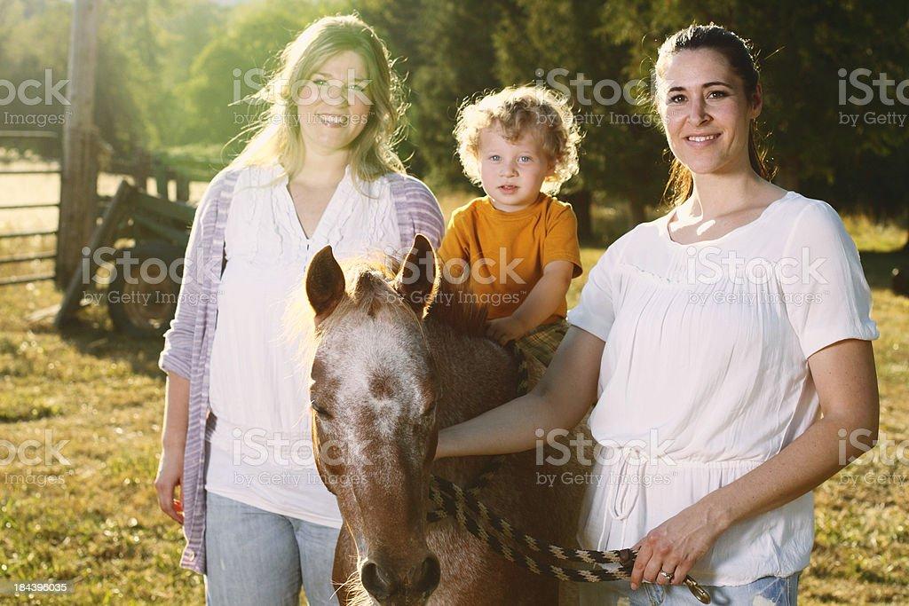 Pony Ride royalty-free stock photo