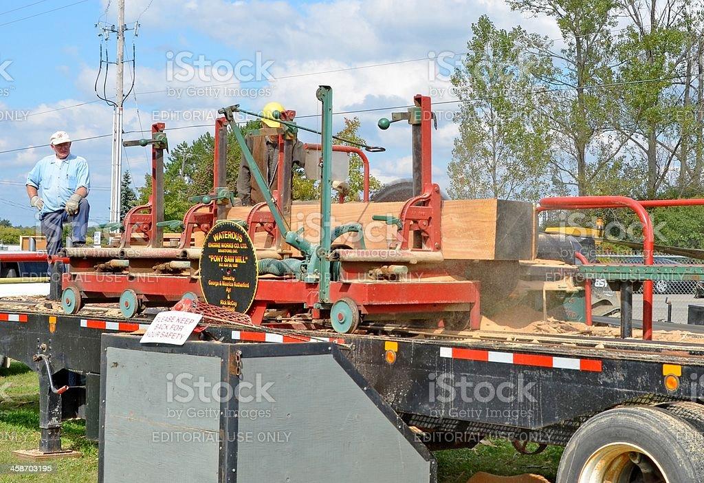 Pony Saw Mill stock photo