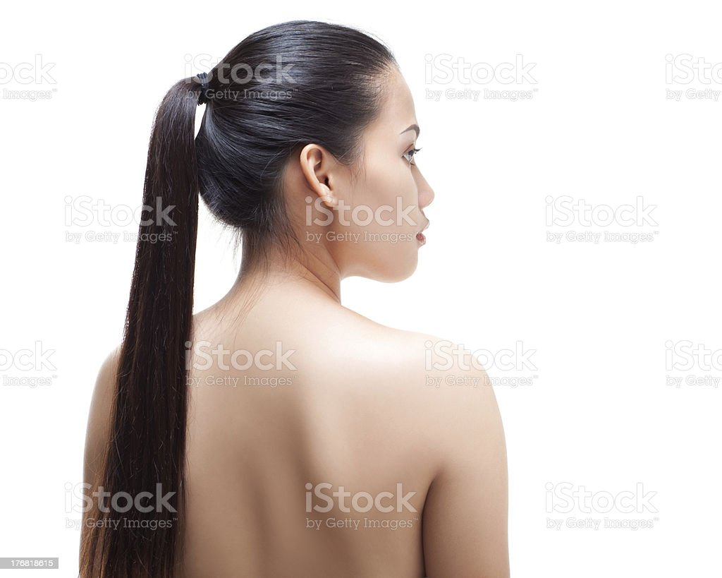 Pony Tail royalty-free stock photo