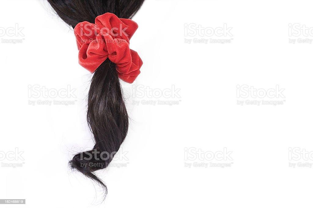 Ponytail stock photo