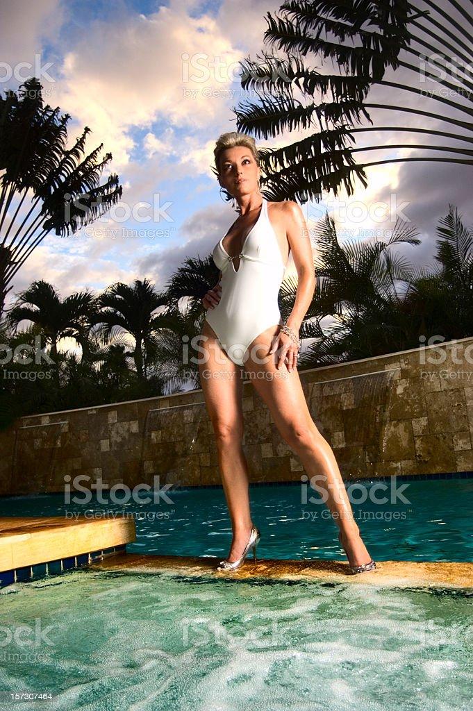 Pool Activities royalty-free stock photo