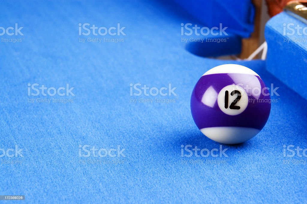 Pool Ball stock photo