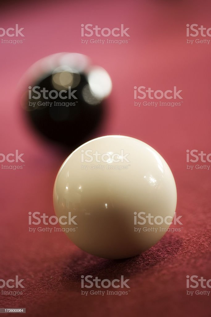 Pool Balls royalty-free stock photo