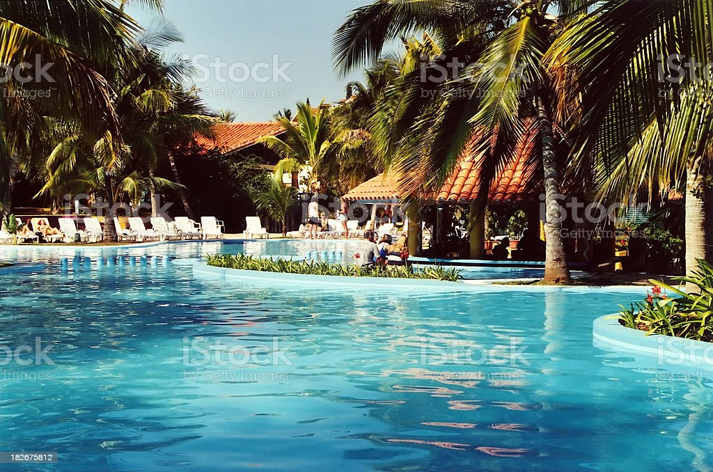 Pool bar royalty-free stock photo