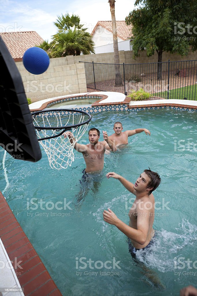 Pool Basketball royalty-free stock photo