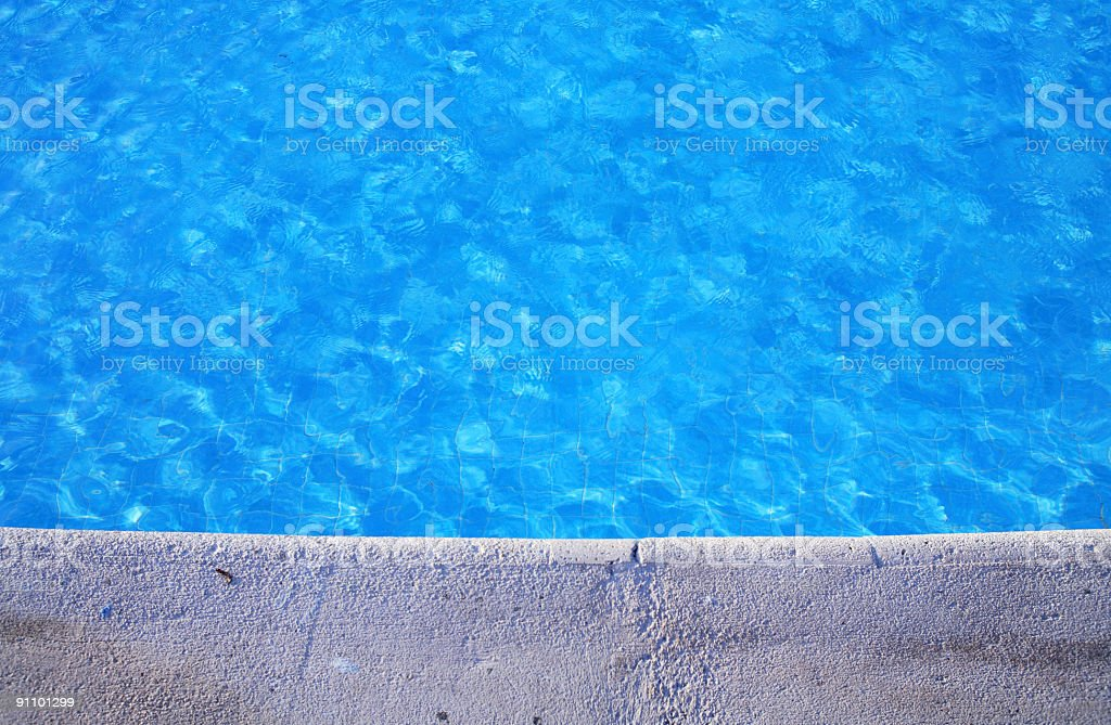 Pool border royalty-free stock photo