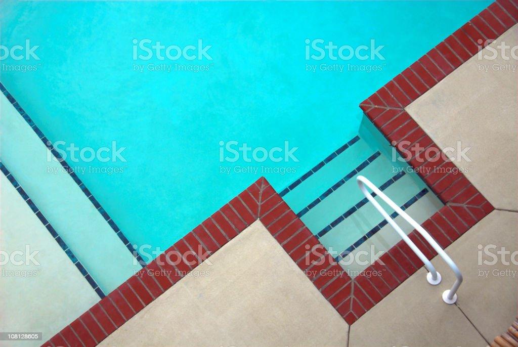 Pool Corner royalty-free stock photo