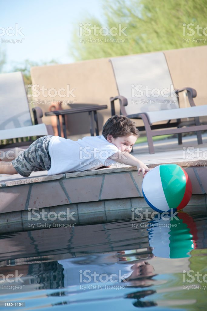 Pool Danger royalty-free stock photo