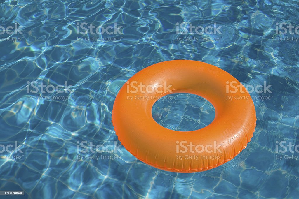 Pool Float royalty-free stock photo