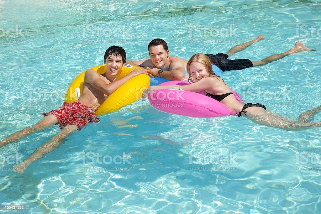 Pool Fun royalty-free stock photo
