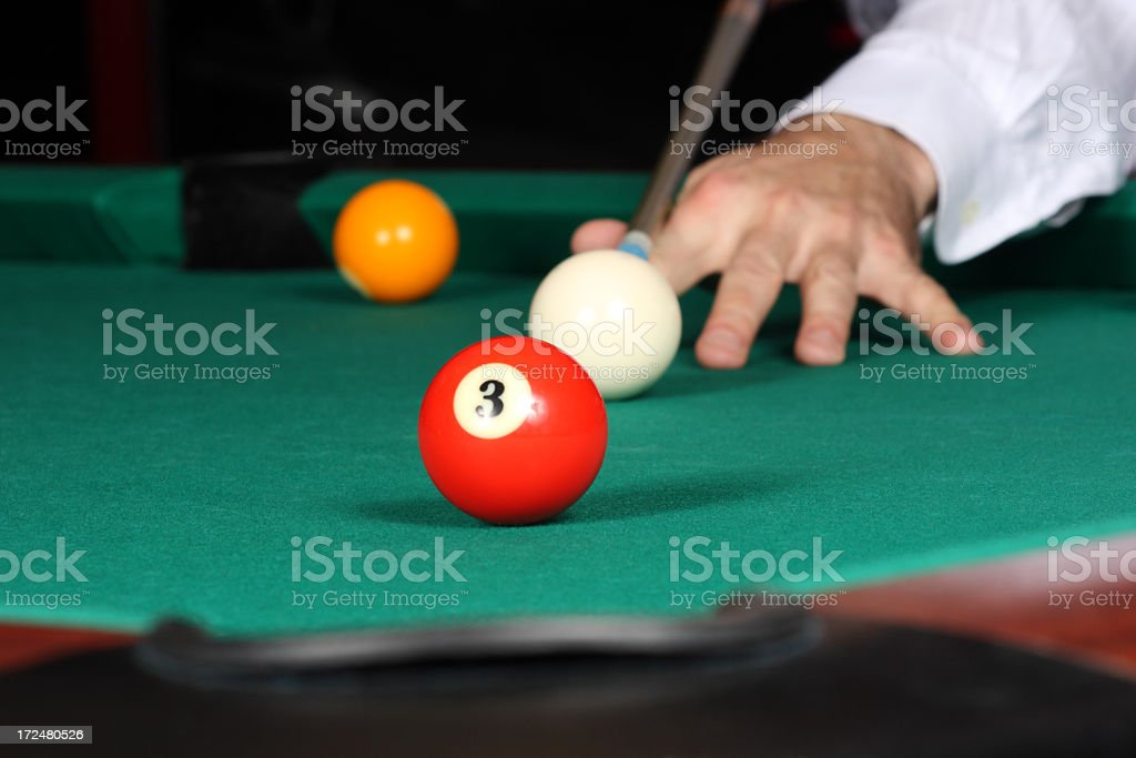 Pool game royalty-free stock photo
