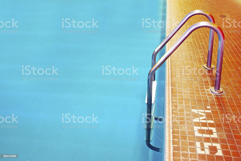 Pool Ladder royalty-free stock photo