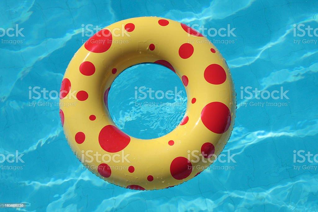 Pool Life Saver stock photo